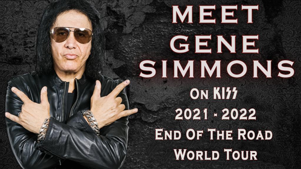 Meet Gene Simmons Backstage